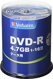三菱化学媒体 Verbatim DVD-R(Data) 100枚