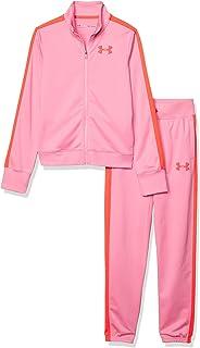 Under Armour 安德玛 Em Knit 女童训练服 粉色,红色