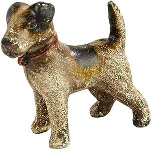 HomArt Woody the Terrier - 铸铁 古典白色 1923-0