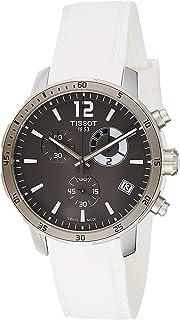 Tissot 男士 T0954491706700 Quickster 模拟显示瑞士石英白色手表