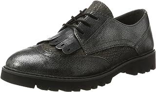 tamaris 女式23665可牛津鞋 Grey (Graphite Comb 283) 5 UK