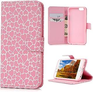 [3 件装] iPhone 6S Plus/6 Plus(5.5 英寸)钢化玻璃屏幕保护膜,[超薄 0.26 毫米 / 9H 硬度评级] MOLLYCOOCLE 出品 粉色