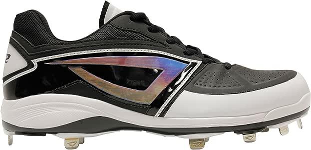 3N2 男士 Lo-Pro 金属款鞋钉,黑色,尺码 15