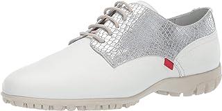 MARC JOSEPH NEW YORK 巴西制造女士皮革系带高尔夫鞋