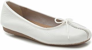 Clarks 女士Freckle Ice芭蕾平底鞋