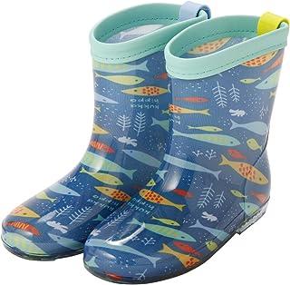 Ogawa 小川 儿童雨靴 Kukka Hippo 06 おさかな M 17cm 83192