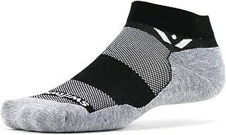 Swiftwick- MAXUS ONE - 跑步和高尔夫袜 - 毛绒垫,全天舒适脚踝袜