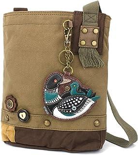Chala Patch 女式斜挎包,帆布斜挎包 - 橄榄色