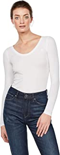 G-STAR RAW 女式 BASE R T WMN l/s 长袖上衣