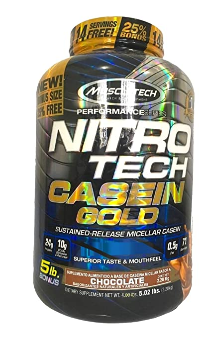 Muscletech 肌肉科技 金装正氮酪蛋白粉 巧克力味 5.02磅 (2290g)镇店之宝¥278