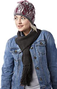 Screamer 女式 Confetti 无檐小便帽和围巾套装