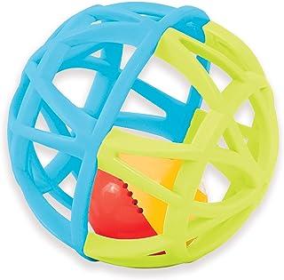 Manhattan Toy 发光玩具和拨浪鼓 Jazzy Ball 多种颜色