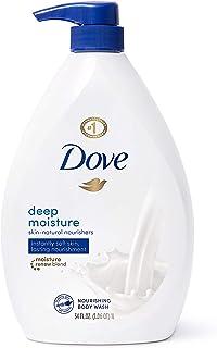 Dove 多芬 天然营养泵式沐浴露,可立即使皮肤柔软,持久滋养深层保湿,有效清洁,34盎司/1升