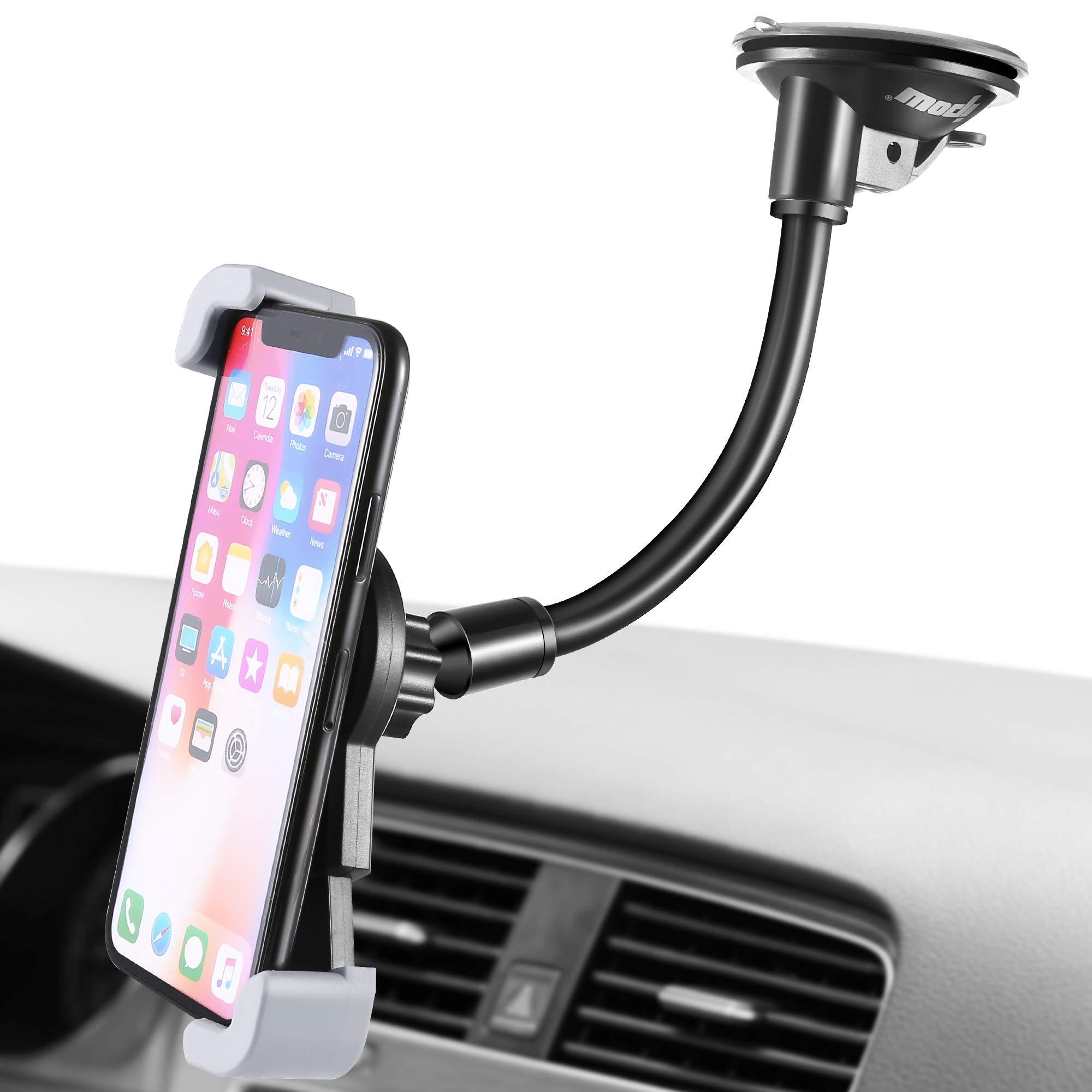 対角線クリップカーホルダーは、大規模なデバイスのダッシュボード/フロントガラスは、携帯電話ホルダーをマウントipowはiPhone SAMSUNG GALAXYに適していますネクサスLG HTC GPS、等