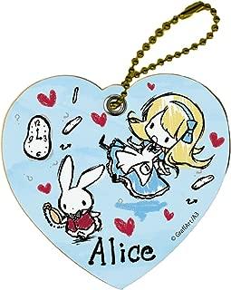 童话系列 04 不可思议国的爱丽丝角色皮革饰品 蓝色(图形设计)