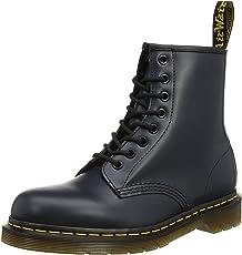 Dr Martens 男士 1460 蓝色 牛皮皮靴 马丁靴 6 英国码 UK (英国品牌 香港直邮)