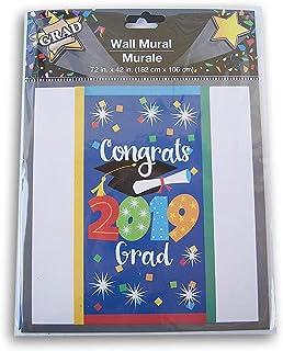 """毕业""""Congrats Grad'' 2019 壁画 - 182.88cm x 106.68cm"""