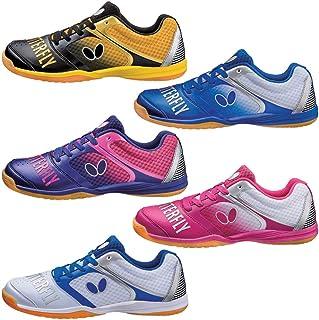 蝴蝶男女款乒乓球鞋 レゾライン グルーヴィー 蓝色93610