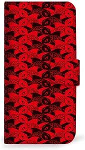 mitas iphone 手机壳170SC-0105-BR/SHV38 4_AQUOS SERIE mini (SHV38) 黒・赤