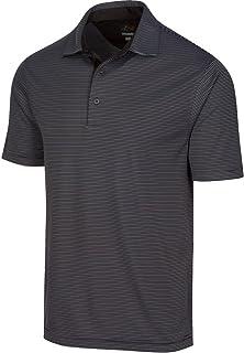 Greg Norman 男式 Protek Ml75 Microlux 2 次条纹 Polo 衫