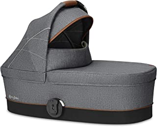 CYBEX Gold Carrycot Cot S, From birth to 6 months (9kg), Denim Collection, Manhattan Grey
