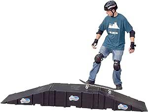 Landwave 滑板入门套件,带 2 个坡道和 1 个甲板