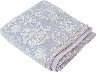 (内野)UCHINO TOWEL GALLERY(内野毛巾画廊) 花卉 面巾 约34×80cm 蓝色 8810F739 B