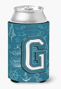 字母 G 海涂鸦首字母*瓶饮料保温器 Hugger CJ2014-GLITERK