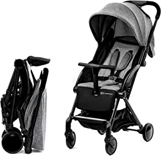 Kinderkraft PILOT 轻型婴儿车 运动型婴儿推车 可折叠 黑色 / 灰色