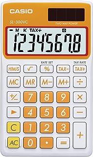 CASIO 卡西欧 SL-300VC 标准函数计算器,橙色