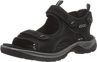 Ecco 爱步女式夏季透气皮凉鞋Yucatan 潮鞋厚底沙滩鞋越野鞋