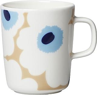Marimekko 马克杯 米色 灰白色 蓝色 250毫升 63431 815