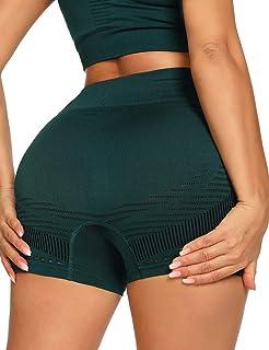 coastal rose 女式高腰瑜伽短裤运动健身收腹运动提臀锻炼短裤
