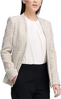 DKNY 背部系带运动夹克,灰色,12 码