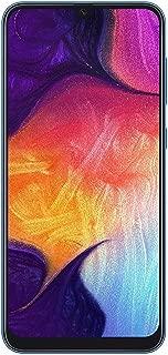 Samsung Galaxy A50(128GB,4GB RAM)6.4英寸显示屏,25MP,三摄像头,双 SIM GSM 工厂解锁 A505G/DS - 美国+全球 4G LTE 国际型号 128 GB 蓝色