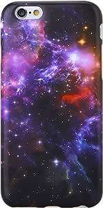 "iPhone 6手机壳 iPhone 6S 手机壳 vivibin 减震哑光 TPU 软硅胶保护壳手机保护套适用于 iphone 6/ iPhone 6S–11.9cm Nebula-136 4.7"""