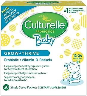 Culturelle 康萃樂 嬰兒Grow + Thrive益生菌+維生素D袋裝補充劑 30袋