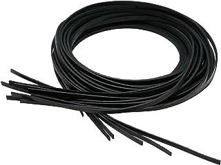 Rolls(Rawlings) U.S.A.RL网球花边 180cm EAC8F12 黑色 長さ/約180cm、幅/約5.2mm