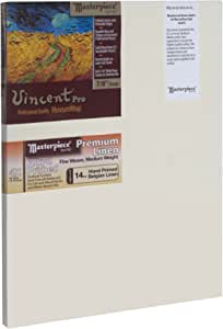 Masterpiece Artist Vincent Pro Canvas, 6-Inch by 22-Inch