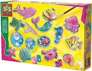 SES Creative 01354 抛投和绘画海洋公仔