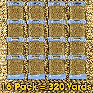 Needloft 工艺线 Cottage Mills 出品 Metallic Gold 01 16-Pack 95060