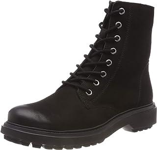 Geox 健乐士 D Asheely H 女士 骑行靴 黑色(黑色 C9999) 37.5 EU