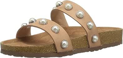 Steve Madden Asset Slide 女士凉鞋 天然 6.5 M US
