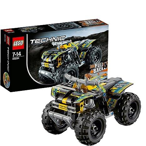 LEGO 乐高 拼插类玩具 Technic机械组系列 四轮越野摩托车 42034