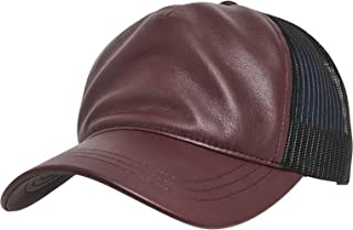 Flexfit 皮革卡车司机帽