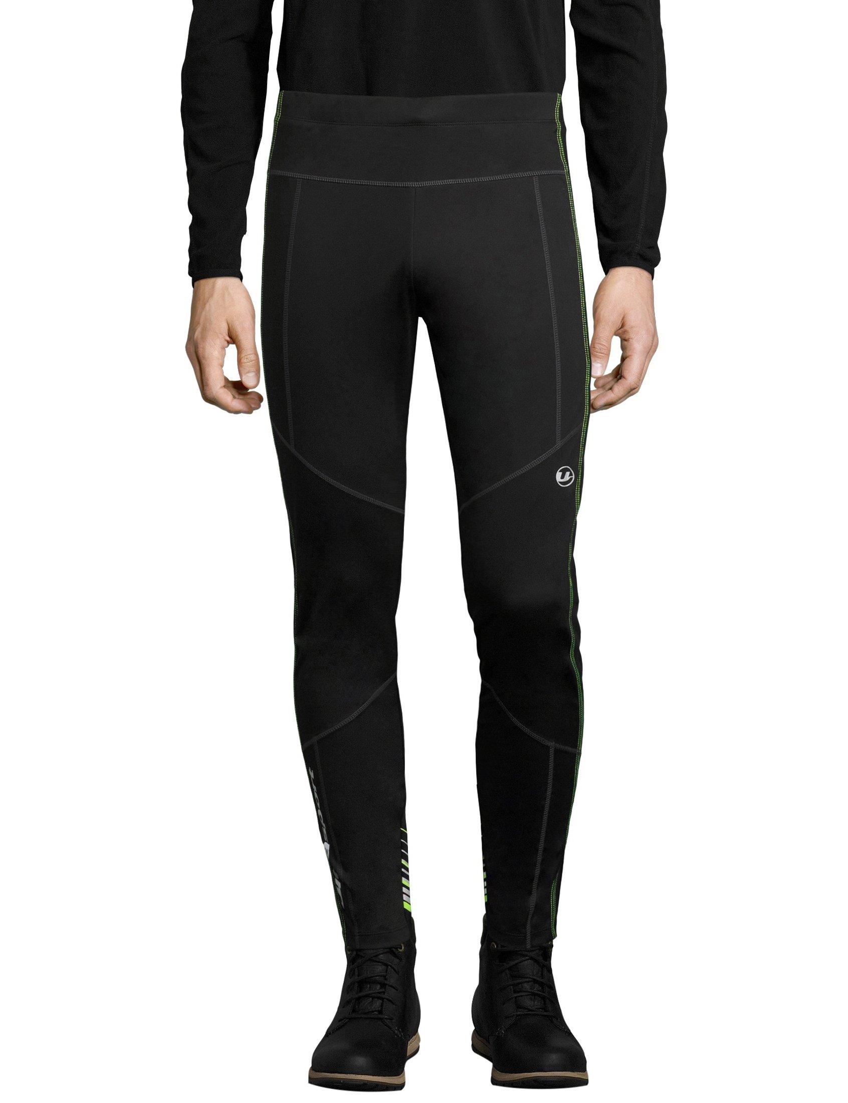 Ultrasportシニア男子クロスカントリースキーパンツ、冬のスポーツや野外活動に適した防水雪のパンツ、ズボンが機能、