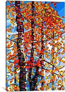 "iCanvasART 1 Piece Panoply Canvas Print by Mandy Budan, 26 x 18""/1.5"" Deep"