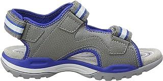Geox 男孩 J BorealisBoy B Peeptoe 凉鞋