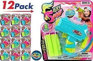 JA-RU 女孩超泡沫射击枪(12 支装)和一个弹跳球*弹枪 | 商品 #4684-12p