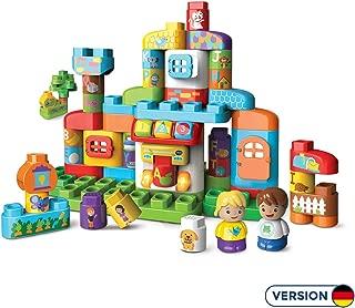 Vtech 80-604904 BlaBlocks 字母表 建筑玩具,彩色